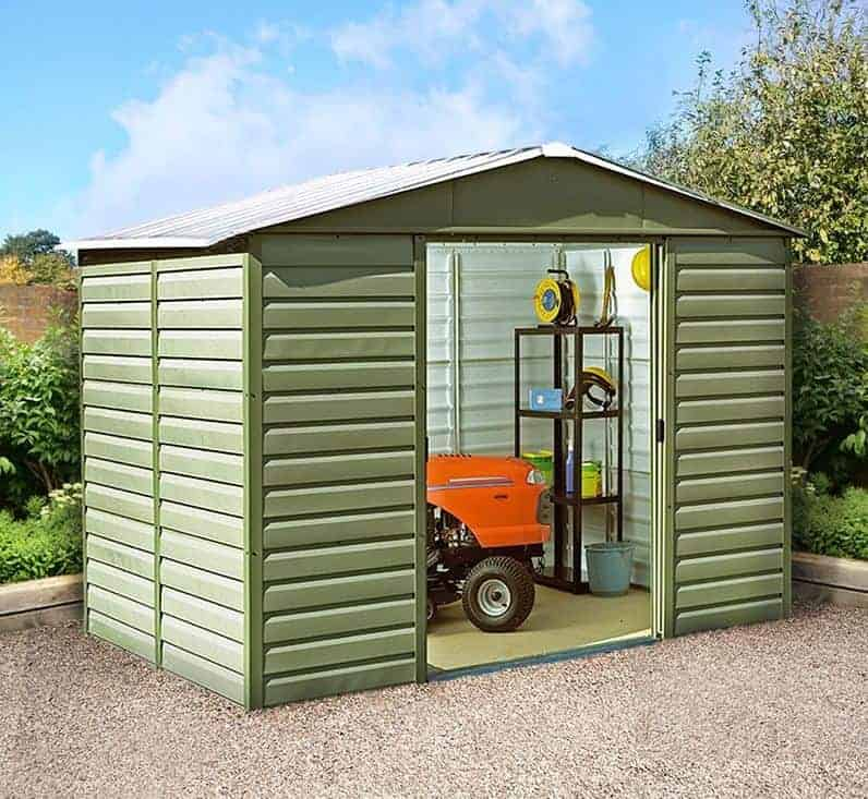 10 X 20 Tin Barn Top Storage Shed