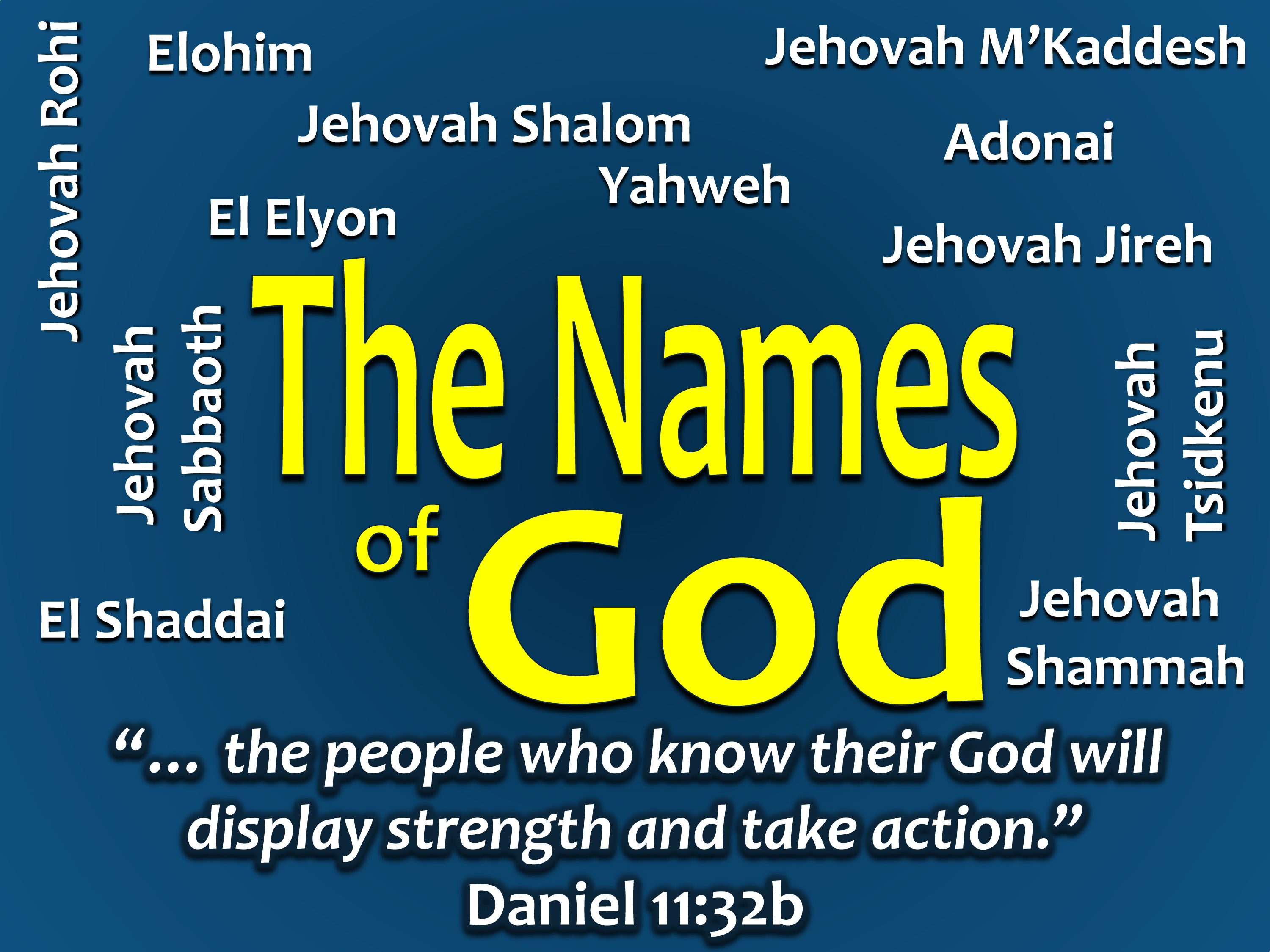 The Names of God   On Target