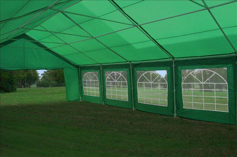 32 X 20 Heavy Duty Party Tent Gazebo Canopy Blue Green