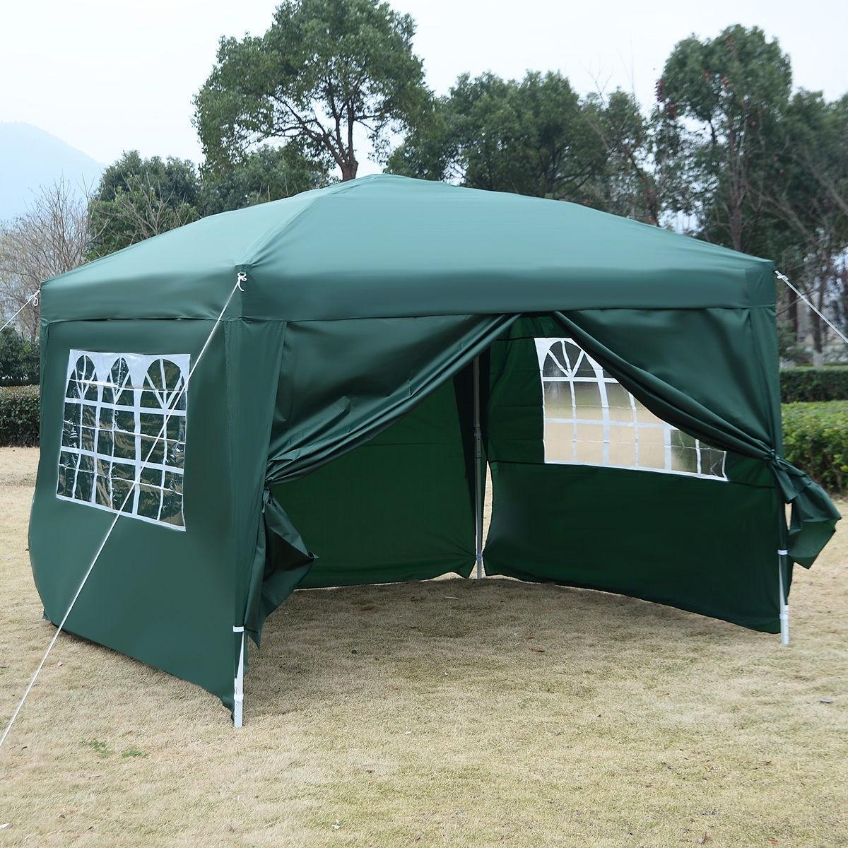 10 X 10 Ez Pop Up Tent Canopy Gazebo