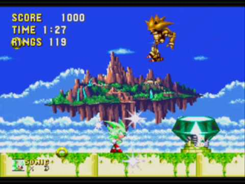super sonic and hyper sonic in sonic 1 # 38