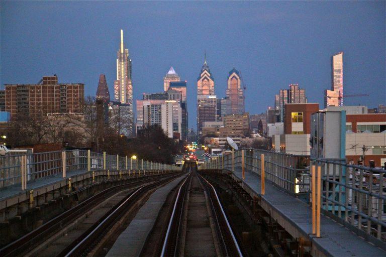 1900s Skyline Philly