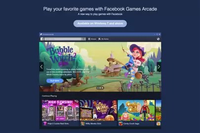 Game engine Unity partners with Facebook   WIRED UK Facebook current beta of a PC based gaming system