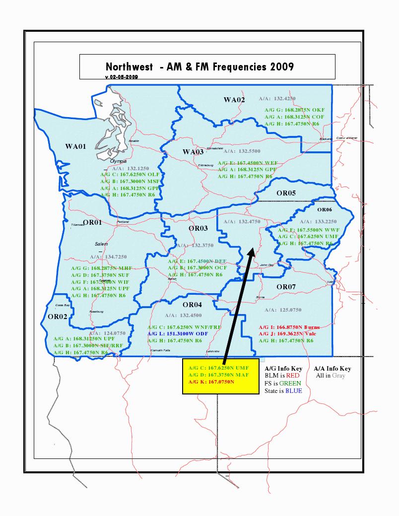 Wenatchee Forest Nat Map
