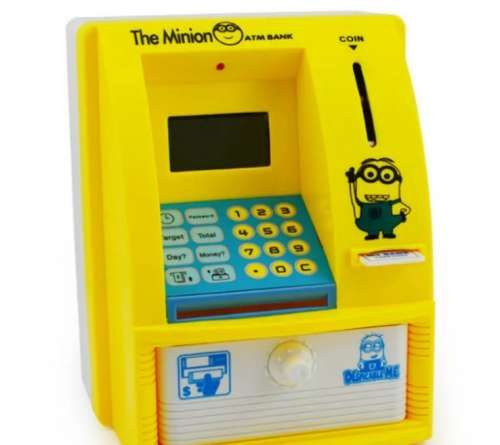 ATM Piggy Bank