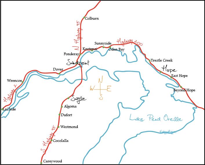 Map Usa Destinations