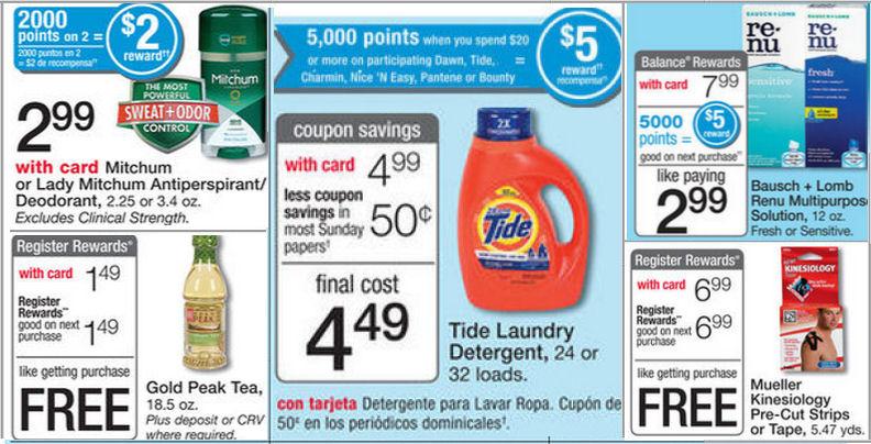Coupons Points Walgreens Balance Rewards