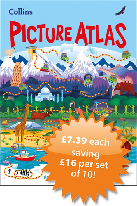 School atlases at low prices    Wildgoose Education Ltd