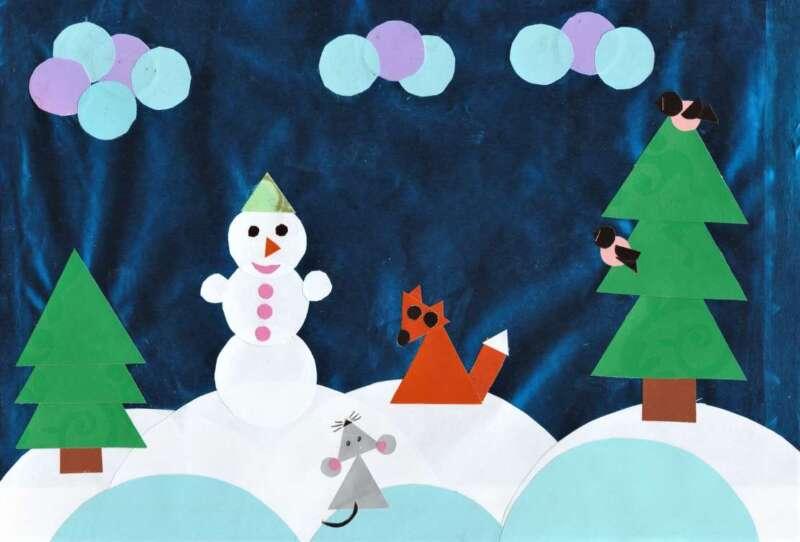 Người tuyết đính và chanterelles