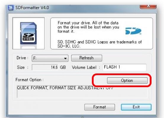 Formatador SD.