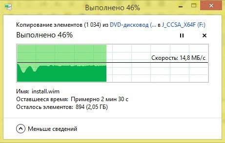 การบันทึกไฟล์บน DVD พร้อมกำหนดการคัดลอกกระบวนการใน Windows 10