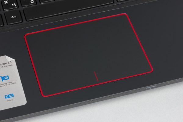 ทัชแพดบนแล็ปท็อป