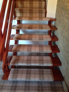 Hall Landing And Stair Carpet Winder Carpets And Beds | Fitting Carpet To Open Tread Stairs | Landing | Floating Staircase | Stairway | Hardwood | Prefinished Stair