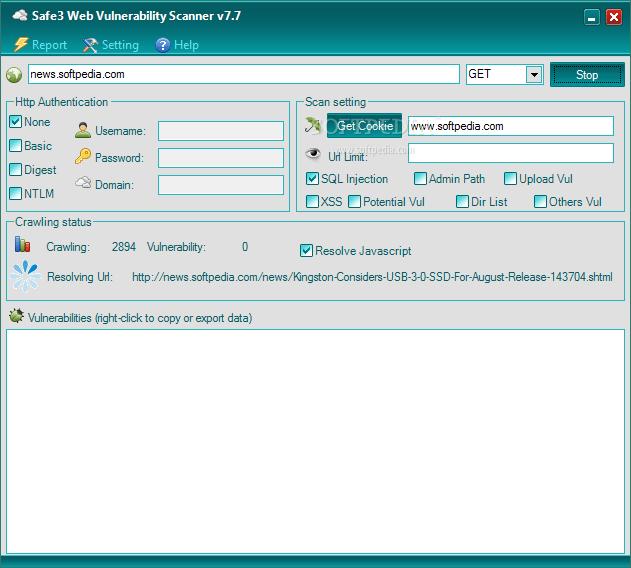 Scan Website Sql Injection