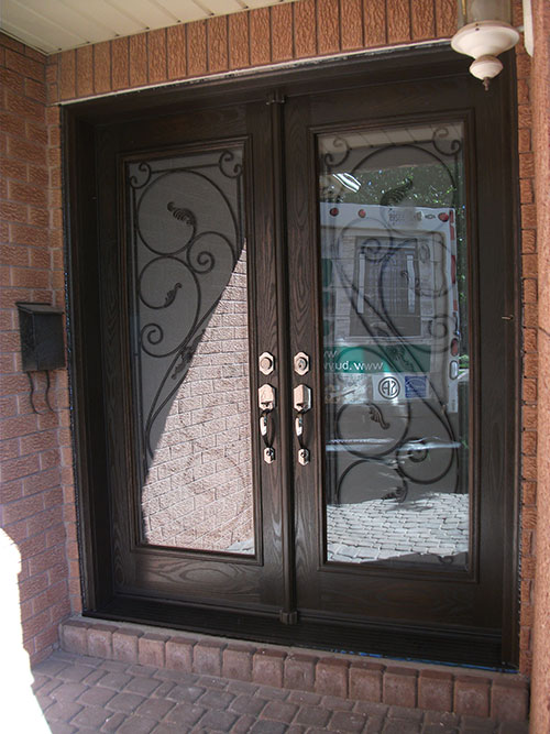 Windows And Doors Toronto Wrought Iron Doors Fiberglass