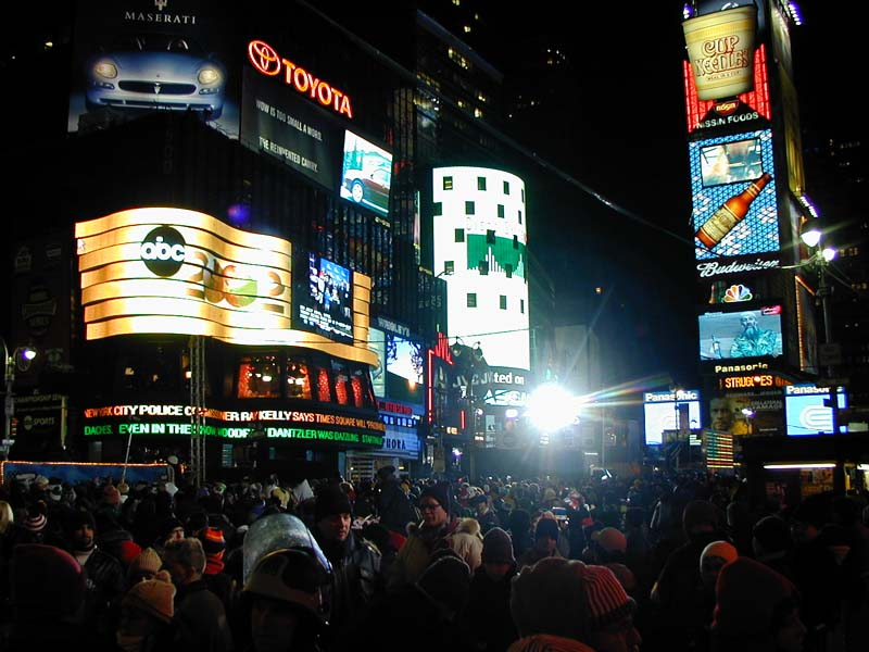 New Year Celebrations in Times Square   Wired New York New Year Celebrations in Times Square