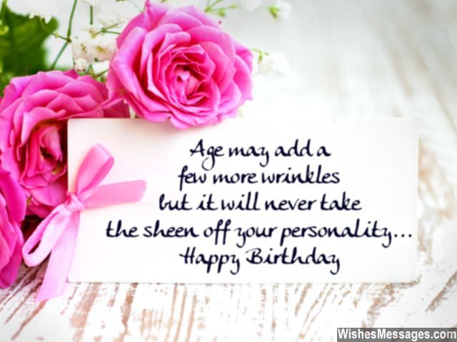 Birthday Wishes Elderly People