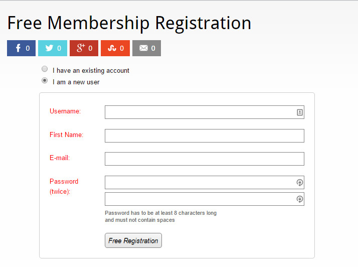 How to Add an Attractive & Converting Registration Form on ...