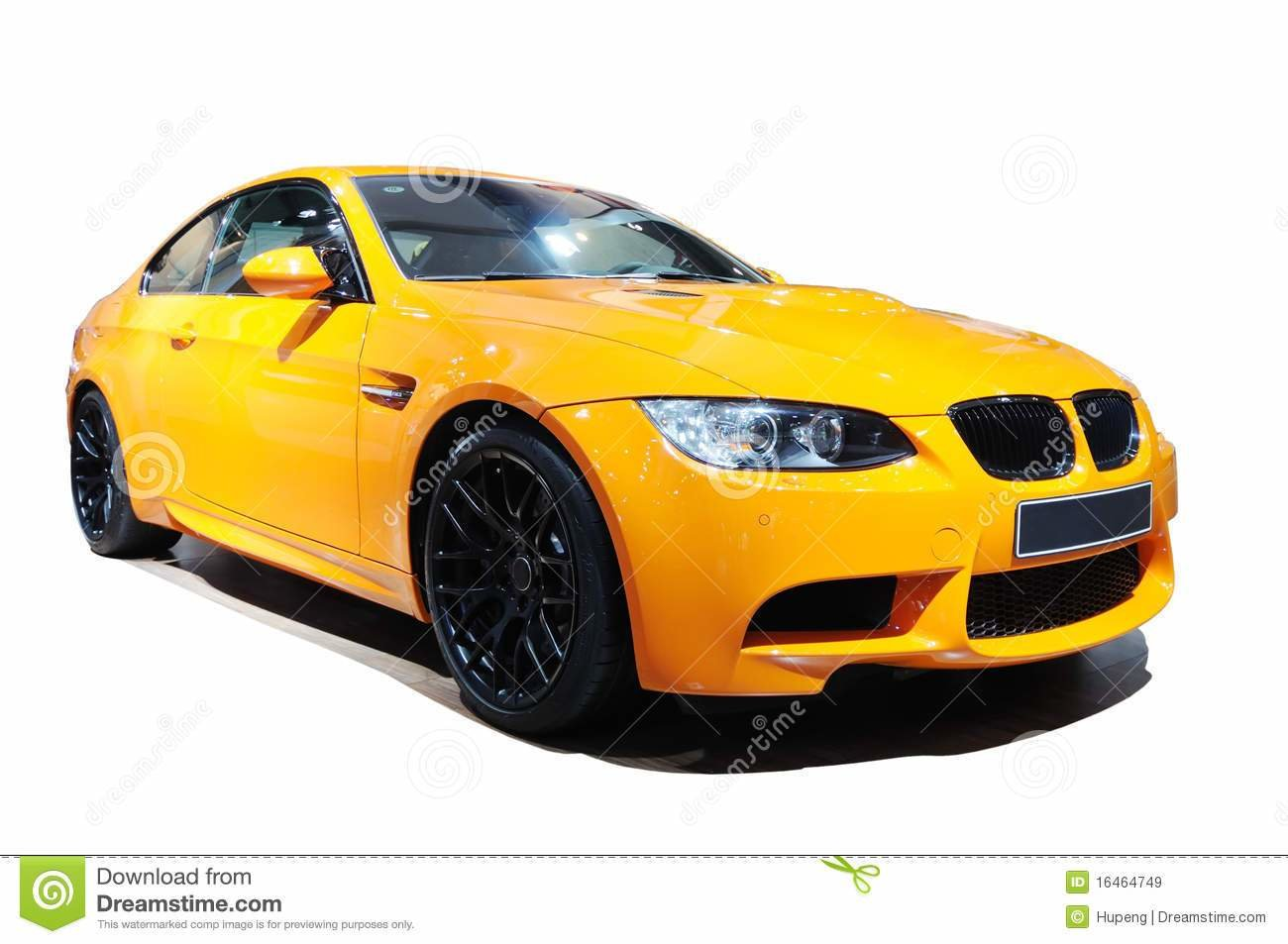 New Yellow Car Bmw M3 Tiger Edition Stock Image Image Of On This Month