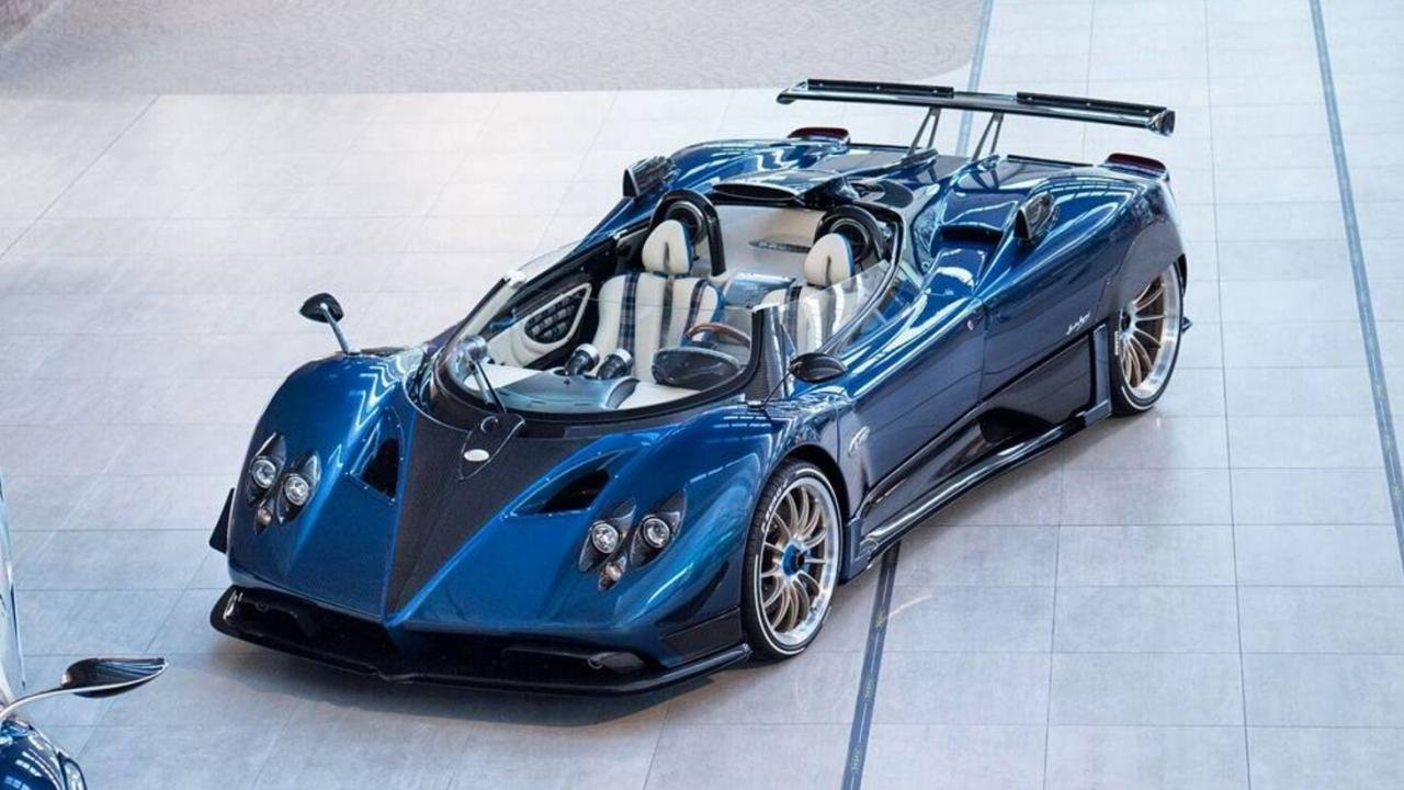 New The Wildest Ever Pagani Zonda New Hp Barchetta Top Gear On This Month
