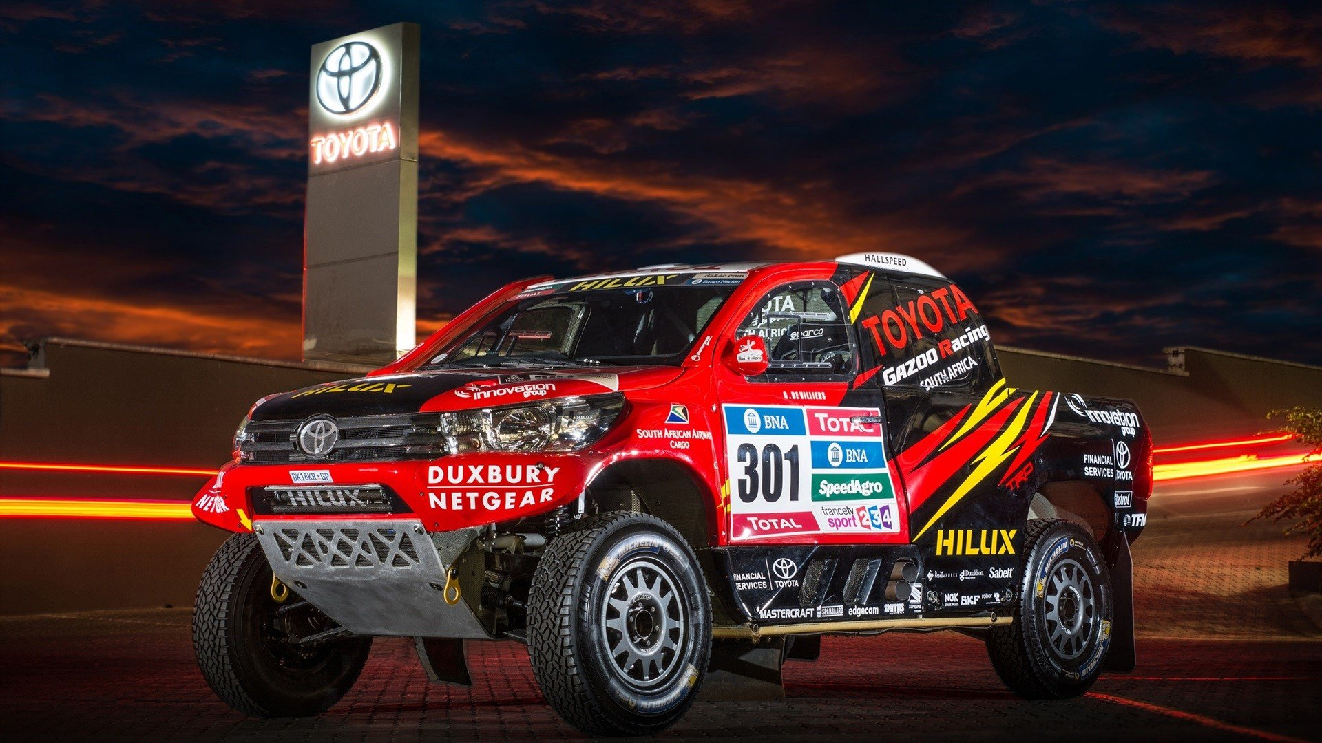 New Download Wallpaper 1920X1080 Toyota Hilux Suv Car Dakar On This Month