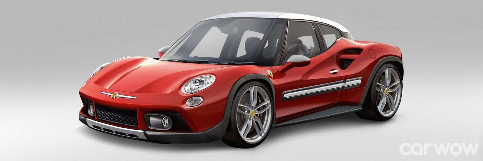 New Ferrari 488 Becomes Fiat 500L And Ford F 150 Raptor Merges On This Month