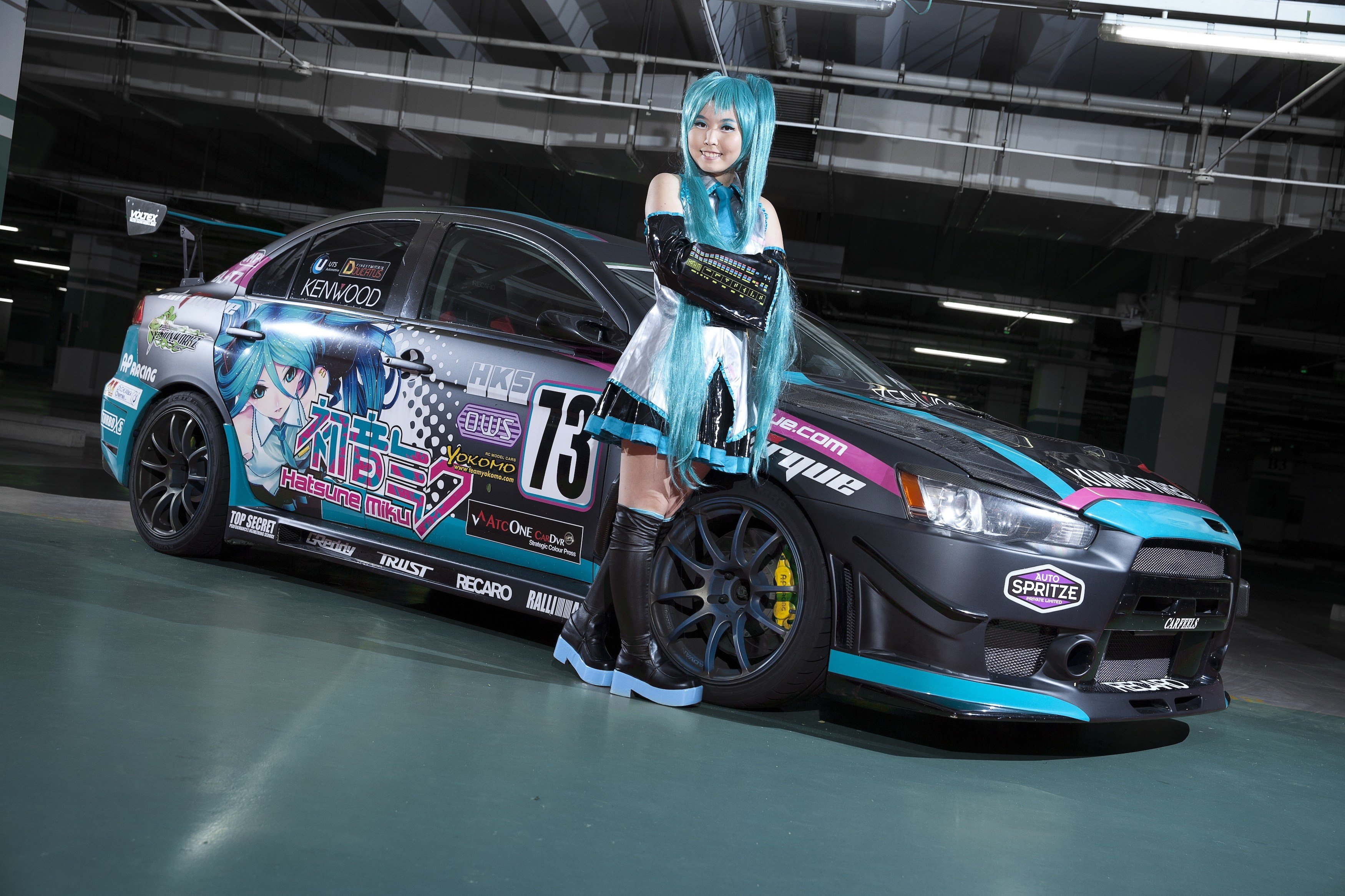 New Cosplay Themed Car Photoshoot Shereen Leung On This Month