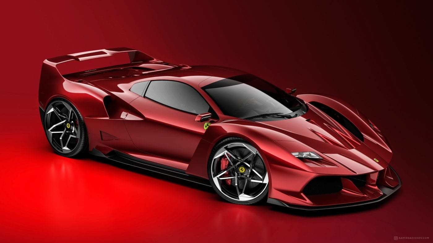 New Ferrari F40 Tribute Is What We Need In The World On This Month