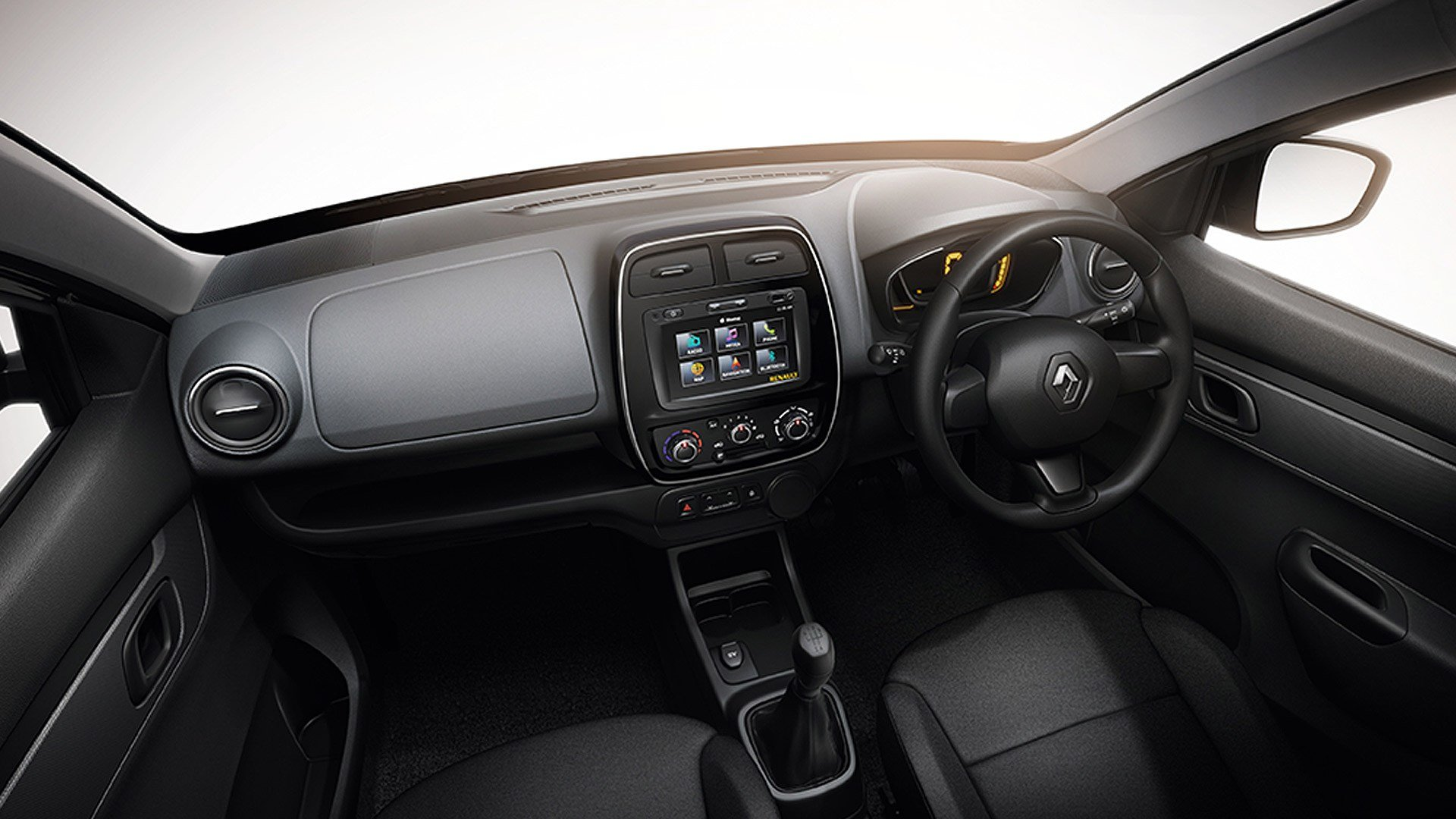 New Renault Kwid 2015 Std Interior Car Photos Overdrive On This Month