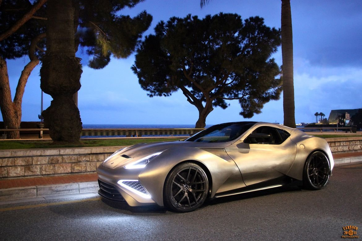 New The Icona Vulcano Is A Titanium Bodied Supercar That Costs On This Month