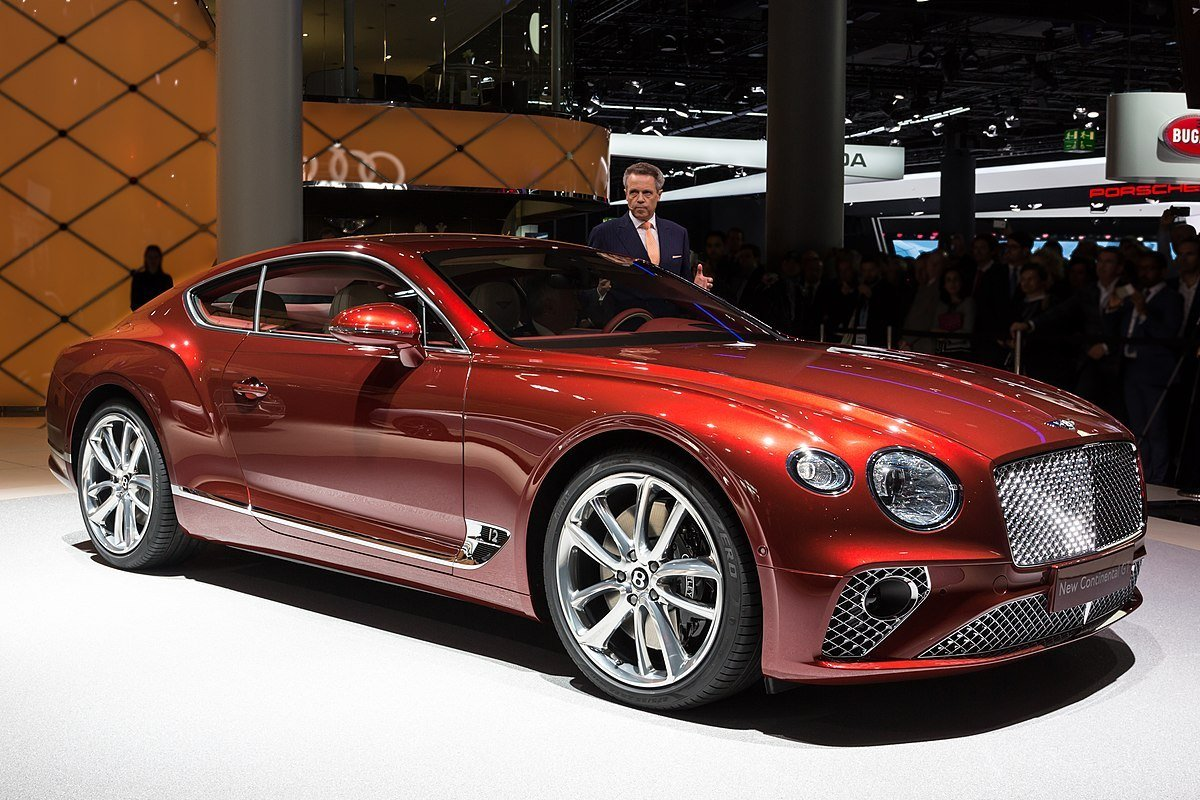 New Bentley Continental Gt Wikipedia On This Month