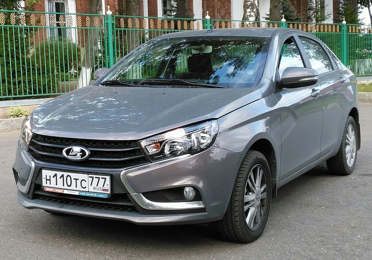 New Lada Vesta Wikipedia On This Month