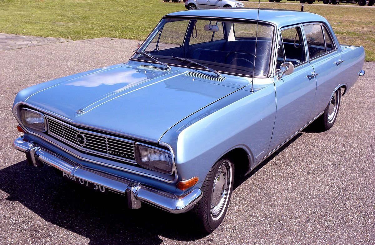 New Opel Rekord Series B Wikipedia On This Month