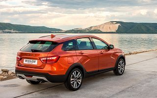 New Lada Vesta Sw Cross Review Lada Official Website On This Month