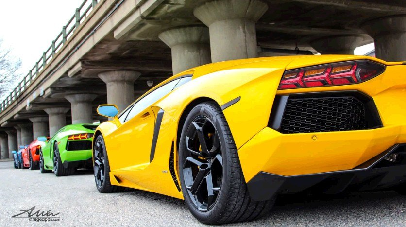 New A Compilation Of Epic Lamborghini Aventador Adventures On This Month
