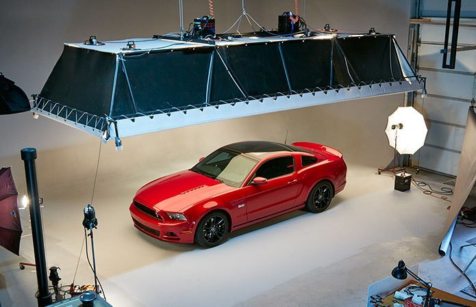 New Ford Mustang Studio Photo Shoot Bp Imaging On This Month