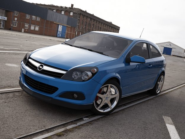 New Opel Astra 2005 3D Model Cgtrader On This Month