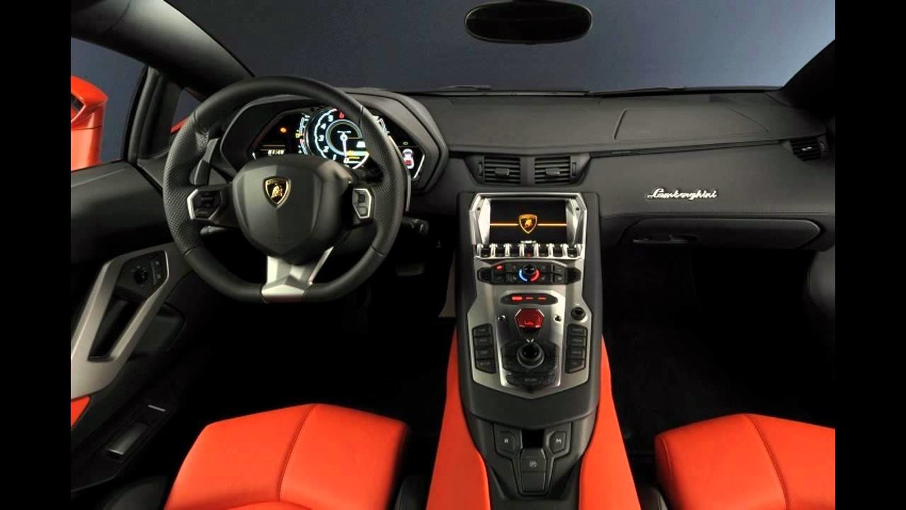 New The New 2012 Lamborghini Aventador Interior And Exterior On This Month