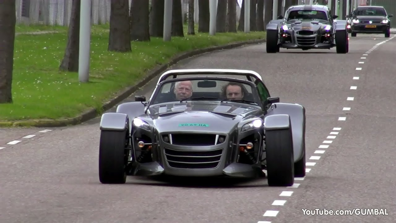 New World Exclusive Donkervoort D8 Gto Start Up Revs And On This Month