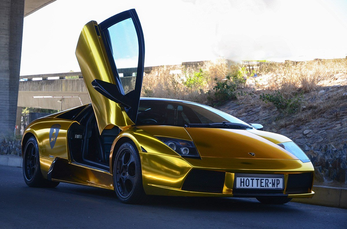 New Photoshoot Lamborghini Murciélago In South Africa On This Month