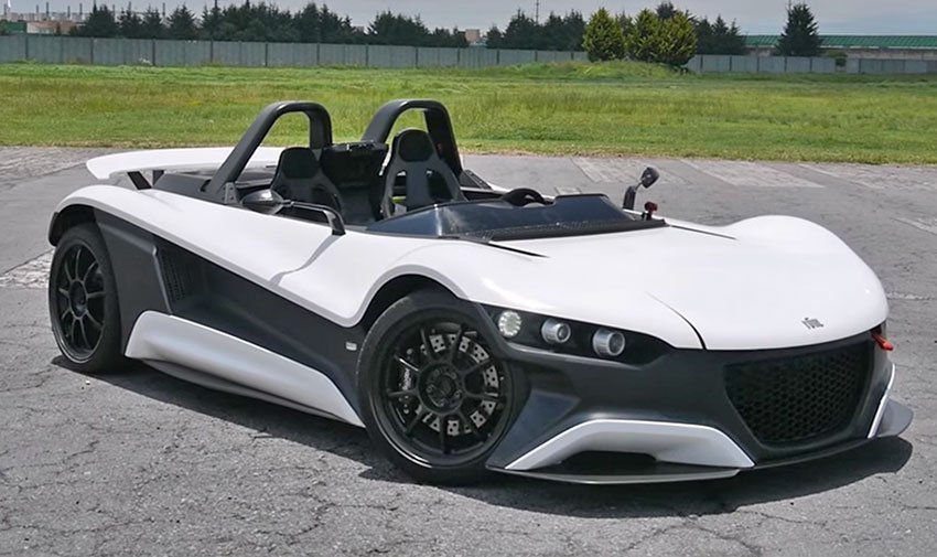New Vuhl The Luxury High Performance Sports Car That S Made On This Month