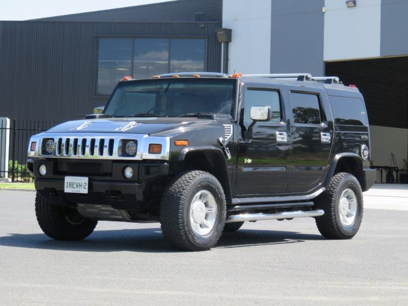 New 2004 Hummer H2 Auto On This Month