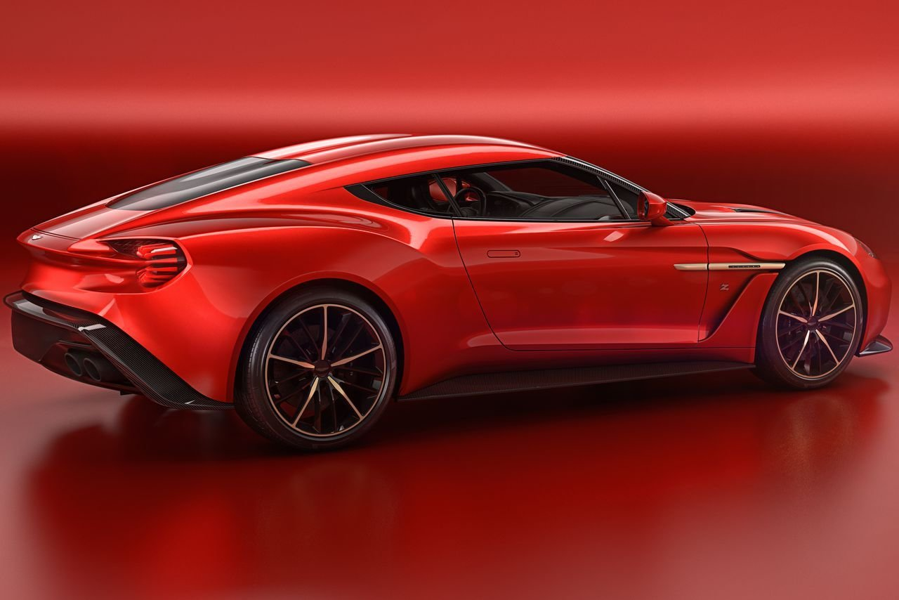 New Aston Martin S Most Beautiful Car In Years Is The Vanquish On This Month