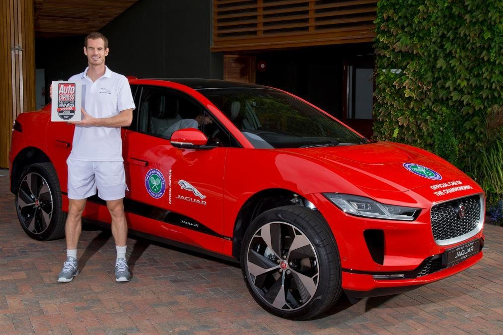 New Andy Murray Talks Cars Ferrari Jaguar I Pace And On This Month