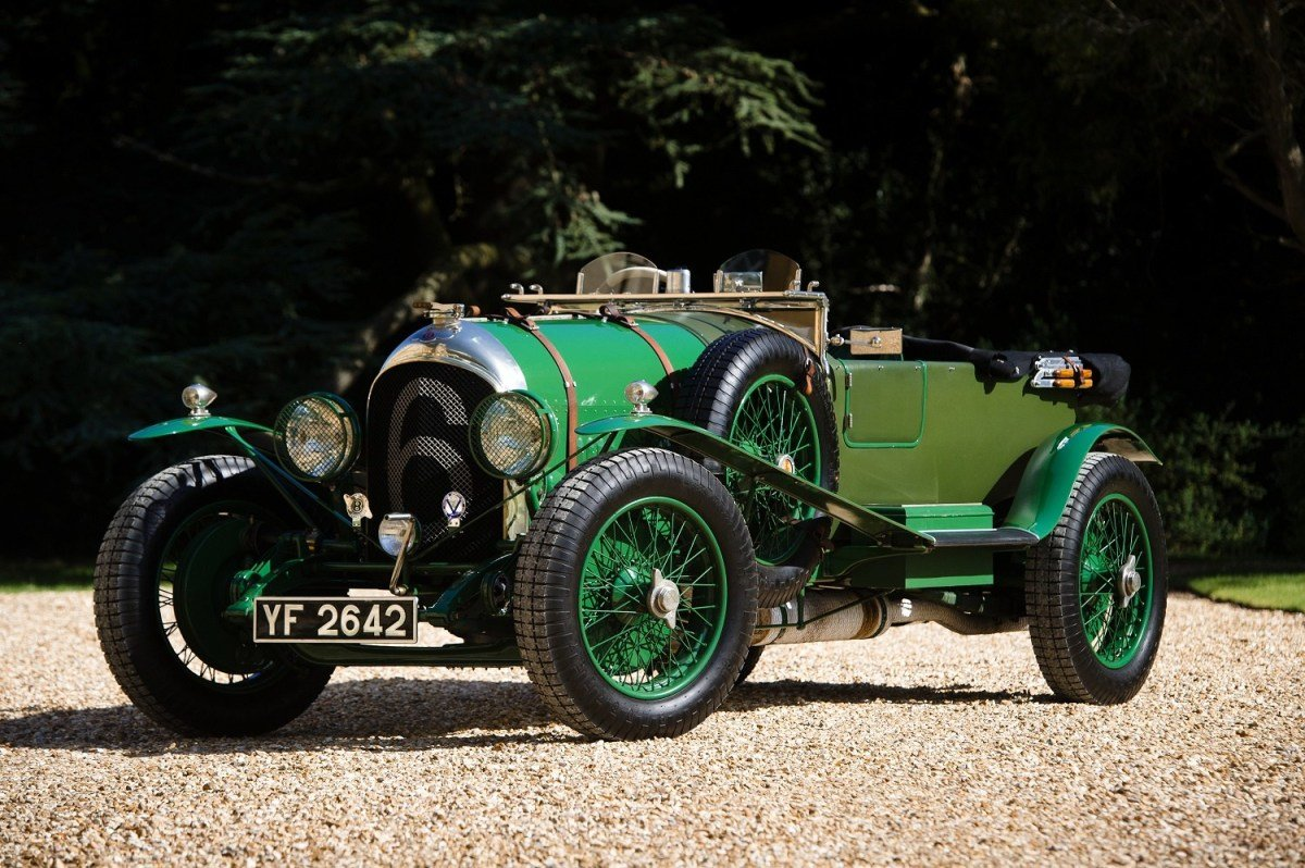 New Classic Car Photography – 1926 Bentley 3 4½ 'Le Mans On This Month