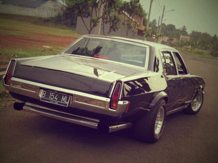 New Holden Classic Car Black Ml Muscle Style Early 70 S On This Month