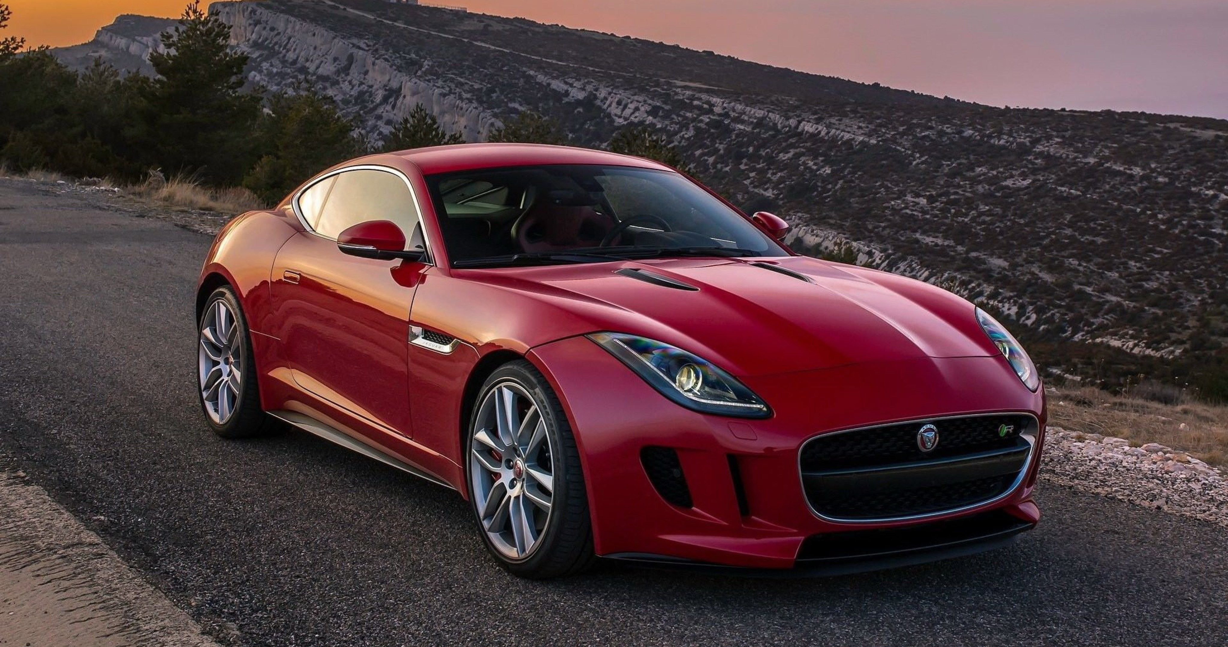 New Jaguar F Type Coupe Wallpaper 4K Ultra Hd Wallpaper On This Month