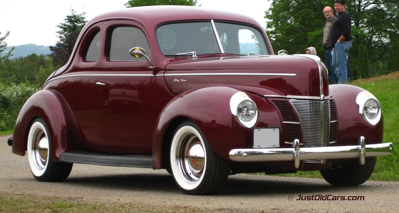 New 1940 Ford Deluxe Coupe Maintenance Restoration Of Old On This Month Original 1024 x 768