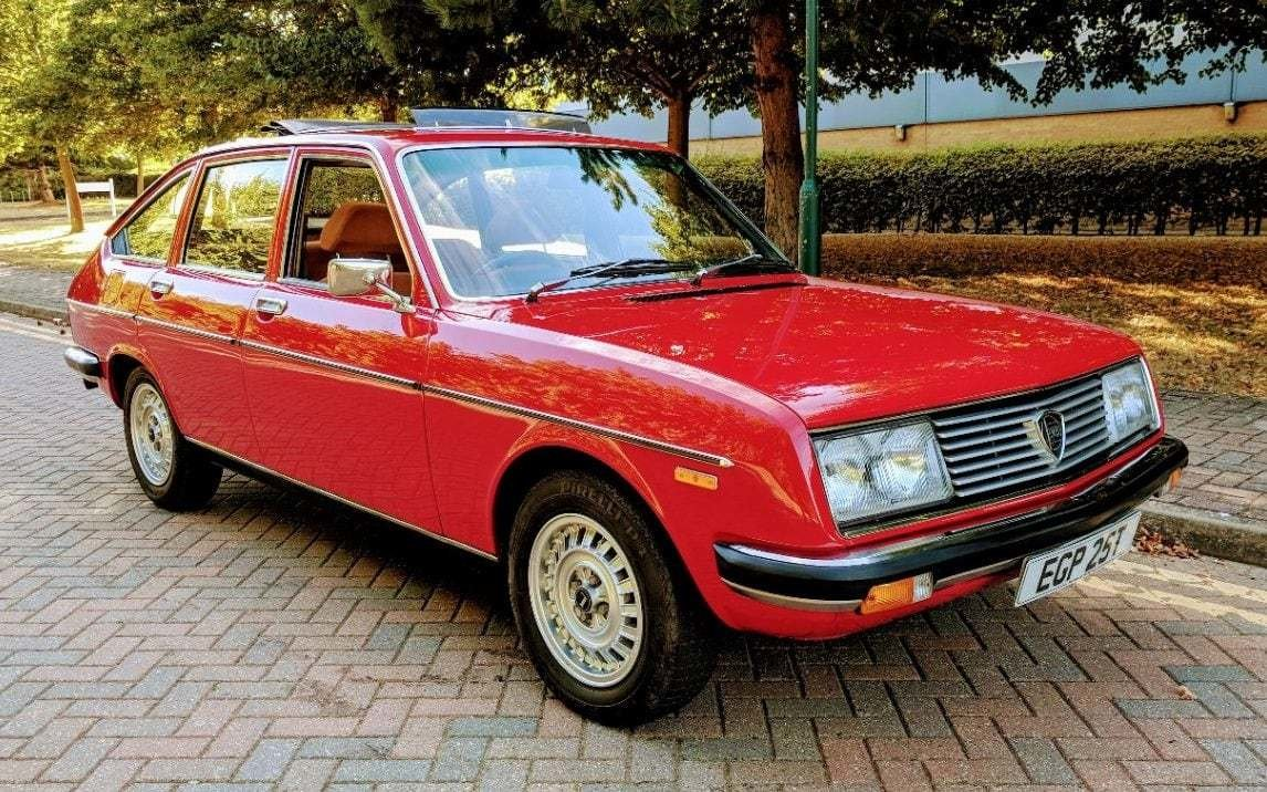 New Uk's Rarest Cars 1978 Lancia Beta 2000 Berlina One Of On This Month