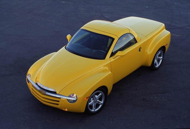 New 2002 Chevrolet Ssr History Pictures Value Auction Sales On This Month